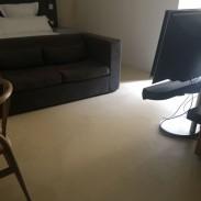 MICROCEMENTOS: TRABAJOS DE ARPE PINTURA DE ALTURA - MICROCEMENTO HOTEL M CATEDRAL