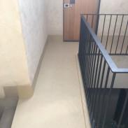 MICROCEMENTOS: TRABAJOS DE ARPE PINTURA DE ALTURA - MICROCEMENTO HOTEL M